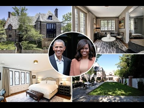 Barack Obama's House Tour 2017 | Where Obama Family Live ...