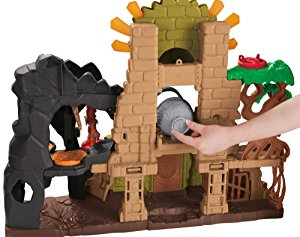 Amazon.com: Fisher Price Dino Fortress: Toys & Games