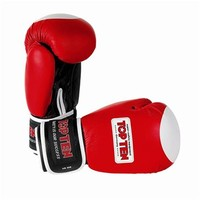 "Boxing Gloves TOP TEN ""Champion"" red"
