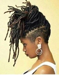 Super Neat Dreadlocks Hairstyle Image: Getty