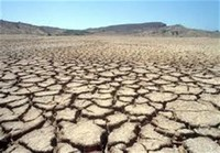 Land and Water Temperatures Cause Drought