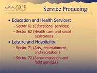 Education and Social Services