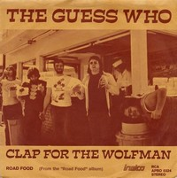 Clap for the ​Wolfman​