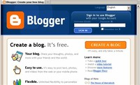 Sign in to Blogger