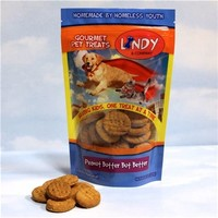 Gourmet Dog Biscuits: Peanut Butter