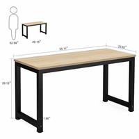 "Tribesigns 55"" Large Home Office Desk"