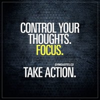Take Action to Address Your Thoughts