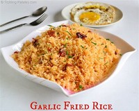 Garlic and Egg Fried Rice