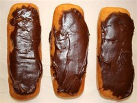 Chocolate Long John via: Culturepiewordpresscom