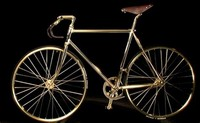 Auramania Crystal Edition Gold Bike: $114,000
