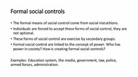 Social Control Through Force and Symbol