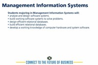 Management Information Systems: 153%