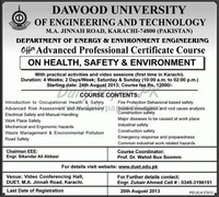Dawood ​University of Engineering and Technology​