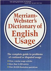 Merriam–​Webster's Dictionary of English Usage​