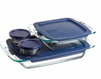 Pyrex Easy Grab Bake 'N Store 8-Piece Set