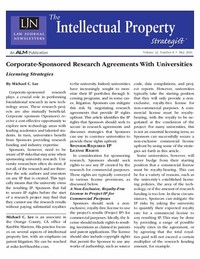 Sponsored Research Agreement