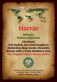 7) Ethiopian Harrar Coffee