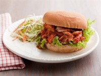 Ellie's Pulled BBQ Chicken Sandwiches