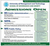 University of ​Management and Technology, Lahore​