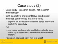 Case Study ​Research: Design and Methods​