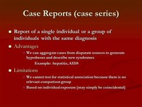 Case Reports and Series