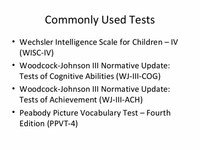 WoodcockJohnson Tests of Cognitive Abilities