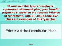 401(k) or 403(b) Offered by Your Employer
