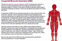 Congenital Muscular Dystrophies (CMD)