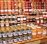 Home-Canned Goods: Jams