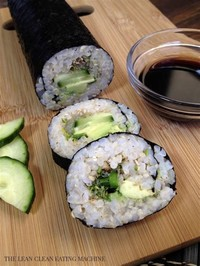 Avocado Roll (on Brown Rice)