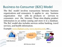 Business - to - Consumer (B2C)