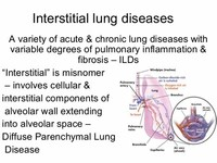 ILD: Interstitial Lung Disease
