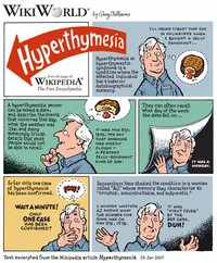 Hyperthymestic Syndrome