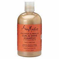 SheaMoisture Coconut & Hibiscus Frizz-Free Curl Mousse, $9.99