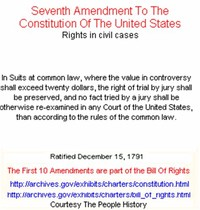Seventh ​Amendment to the United States Constitution​