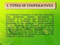 Producers Cooperatives: