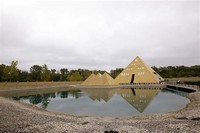 Gold Pyramid House