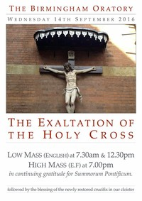 Catholic Church Exaltation of the Holy Cross