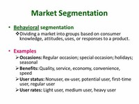 Customer Segmentation: Behavioral