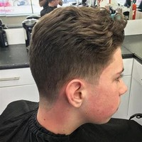 #5: Soft Taper With Texture Cut