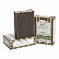 Shea Terra Organics Argan and Ghassool Shampoo Bar