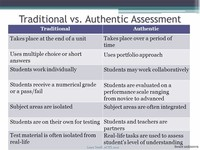 Authentic' or Work-Integrated Assessment