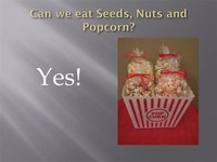 Seeds, Nuts, or Popcorn