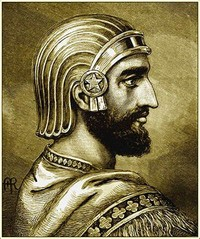 Cyrus the Great (590–580 BC, Persia)