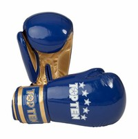 "Boxing Gloves TOP TEN ""Champion"" Blue"