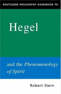 The ​Phenomenology of Spirit​