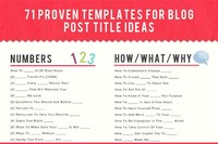 Type a Title for Your Blog