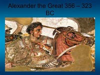 Alexander the Great (356 – 323 BC, Greece)