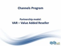 Value-Added Reseller (VAR)