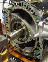 Pistonless Rotary Engines, Notably: Wankel Engine